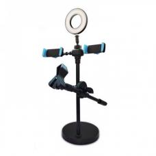 Настольная кольцевая лампа 9CM (с держателями)
