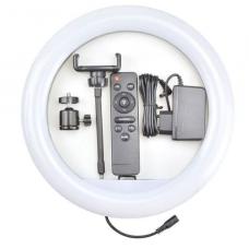 Кольцевая лампа QY-320A (с пультом) 30см