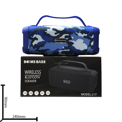 Портативная колонка Booms Bass L17