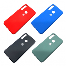 Чехол `Silicone Cover` Samsung A71 (Д)