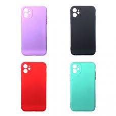 Чехол `Однотонный` iPhone 12 (