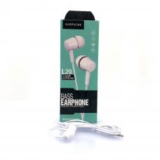 Проводные наушники Earphone L29